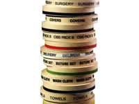 Custom Imprinted Autoclave Tape