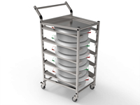 Endo Bins and Trolley Set